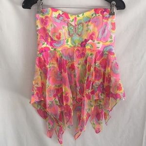 Nanette Lepore butterfly silk top NEW